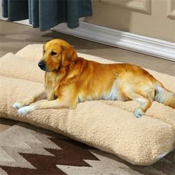 Extra Large Dog Bed Soft Warm Orthopedic Machine Washable Pe