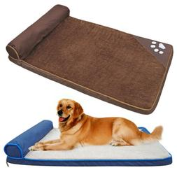 Extra Large Dog Bed Waterproof Kennel Cover Winter Warm Mat