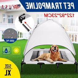 Extra Large Dog Cat Bed Elevated Pet Cot Indoor Outdoor Camp