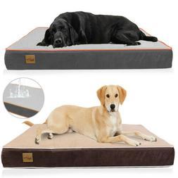 Extra Large Pet Bed Plush Mattress Heavy Duty Orthopedic Dog