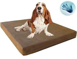 Extra Large Waterproof Orthopedic Gel Cooling Memory Foam Pe