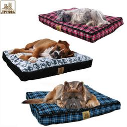 Extra Large Waterproof Pet Bed Mattress Soft Cushion Orthope