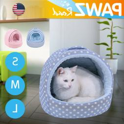 Fashion Dog Bed Pad Small Pet Cushion Cat Cave Portable Dura