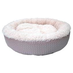 Best Pet Supplies Faux Leather Round Bed, Medium