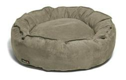 Big Shrimpy Faux Suede Nest Bed-The Last Small Dog Bed You'l