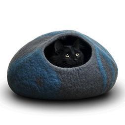 CatGeeks Premium Felt Cat Cave  - All-Natural 100% Merino Wo