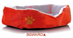 Large Size Fleece Soft Warm Dog Mats Bed Pad Orange