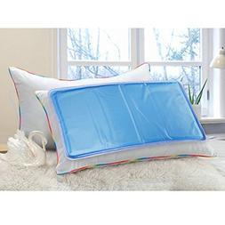 """FlyCreat Cooling Pillow, 11 X 22"""" Mat Gel Soft Cool Mat Grea"""