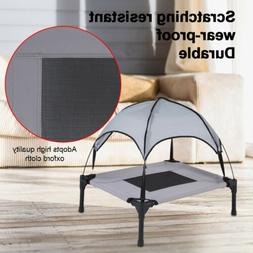 Folding Elevated Bed Tent Camping Dog Bed Pet House Foldable