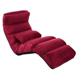 Giantex Folding Lazy Sofa Chair Stylish Sofa Couch Beds Loun