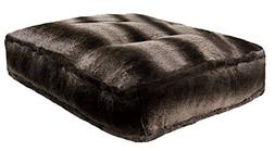 BESSIE AND BARNIE Frosted Glacier Extra Plush Faux Fur Luxur