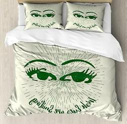 Funny Duvet Cover Set Twin Queen King Sizes with Pillow Sham