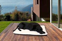 FurHaven Pet Kennel Pad   Orthopedic Faux Lambswool & Sherpa