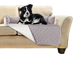 FurHaven Pet Furniture Cover | Sofa Buddy Reversible Furnitu