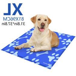 Gel Cooling Mat Cooler f/ Dog Cat Pet Self cooling Cushion P