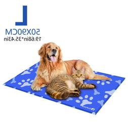 Gel Cooling Mat for Dog Cat Pet Self cooling Cushion Pad Hot