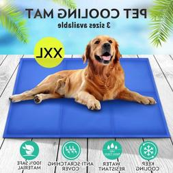 Gel Cooling Mat for Dog Cat Pet Self cooling pillow Summer H