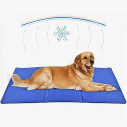 Gel Cooling Mat for Dogs and Cats Self-Cooling Dog Bed Summe