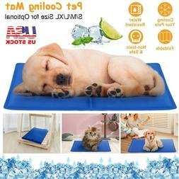 Gel Cooling Mat Self Cooling Cushion Pad for Dog Cat Pet Hot