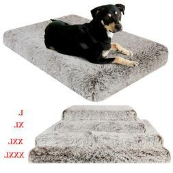 Giant Premium Orthopedic Dog Bed Egg Crate Foam Plush Pillow