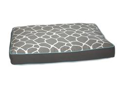 Giraffe Memory Foam Topper Pet Bed Size: Medium , Color: Gra
