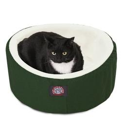 20 inch Green Cat Cuddler Pet Cat Bed By Majestic Pet Produc