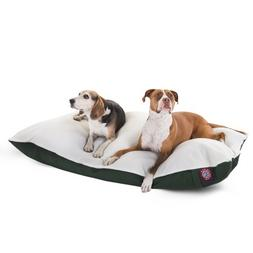 42x60  Green Rectangle Pet Dog Bed By Majestic Pet Products