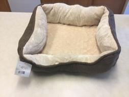 Happycare Beds Textiles Orthopedic Rectangle Bolster Pet Bed