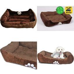 Long Rich Happycare Textiles Reversible Rectangle Pet Bed Wi