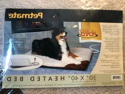 "Petmate heated dog bed 30"" x 40"""