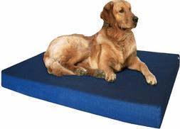 Heavy Duty Denim Waterproof Memory Foam Pet Bed for Small Me