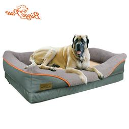Heavy Duty Large Orthopedic Pet Bed Soft Cushion Foam Waterp