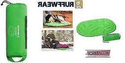 RUFFWEAR - Highlands Sleeping Bag for Dogs, Meadow Green, Me