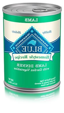 Blue Buffalo Homestyle Recipe Lamb Dinner Canned Dog Food