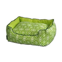 Honeycomb Couch Pet Bed, Medium , Lime