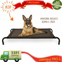 HOT Raised Dog Bed Camping Elevated Cot Big Outdoor Large St