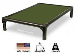 Kuranda Indoor Dog Bed - Walnut Frame - Cordura Fabric - Oli