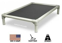 Kuranda Indoor/Outdoor Dog Bed - Almond Frame - Ballistic Fa
