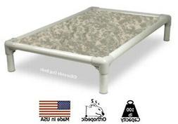 Kuranda Indoor/Outdoor Dog Bed - Almond Frame - Cordura Fabr