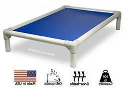 Kuranda Indoor/Outdoor Dog Bed - Almond Frame - Open Weave F