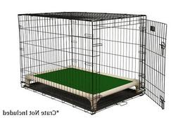 Kuranda Indoor/Outdoor Dog Crate Bed - Almond Frame - 40 oz