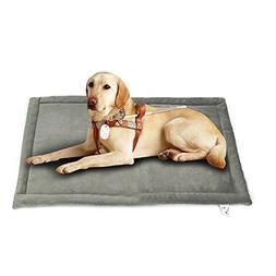 Comforhome Indoor and Outdoor Sleeping Dog Mat Soft Velvet P