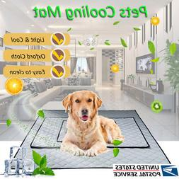 Indoor Summer Chilly Mat Cooling Pet Dog Cat Bed Cool Pad Vi