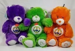 Grriggles Jelly Bean Bears Bear plush squeaker dog toys toy