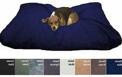 Jumbo Big Heavy Duty Waterproof Pet Dog Bed Pillow with Mix