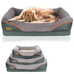 Jumbo Orthopedic Dog Bed Extra Large Thicken Form Faux Fur X