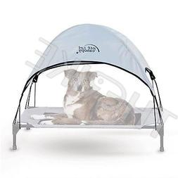 K&H Pet Products Dog Cot Canopy For Bed Portable Outdoor Pet
