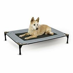 K & H Pet Products Original Pet Cot Large Gray 30 x 42 x 7