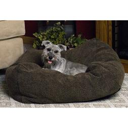 "KandH Cuddle Cube Pet Bed size: 32""L x 32""W, Green"