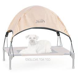 "KandH Pet Cot Canopy size: 25""L x 32""W x 23""H, Tan"